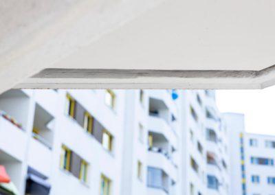 Balkonsanierung mit Tropfleisten von POLYPROFIL